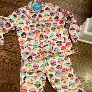 PJ Salvage flannel pajamas set